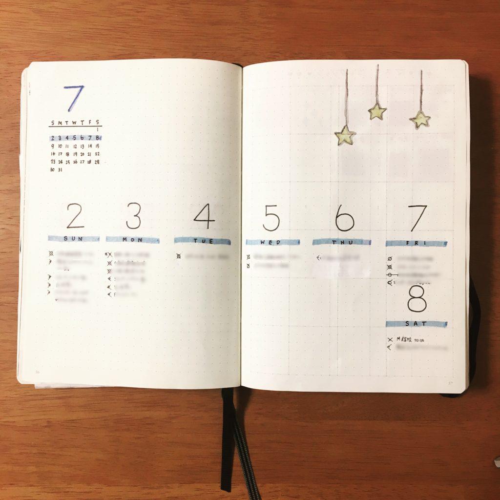 生活の全てを1冊のノートに記録...
