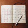 手帳を手作りすれば、どんどん自分の使いやすい形に改善していける!マンスリーの紹介。