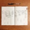 【バレットジャーナル】無印ノート&黒ペン1本で、シンプル・ウィークリーページ。
